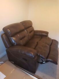 Brand new unused 2 seater recliner sofa