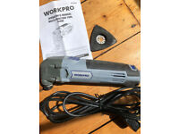WORKPRO multi tool 300w with bag and user manual