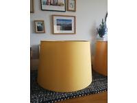 Dunelm Lampshade yellow 3x new