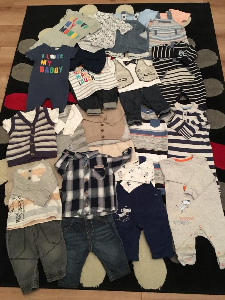 Autumn/Spring Baby Boys Clothes 0-3 months