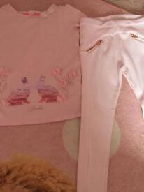 Girls ted baker outfit age 3-4