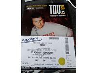 VIP TDV 20 ticket Birmingham