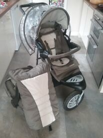 Mothercare Xtreme pushchair and car seat