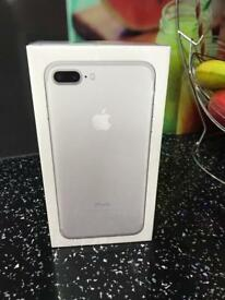 Brand new iPhone 7 Plus -256gb-1 year apple warranty