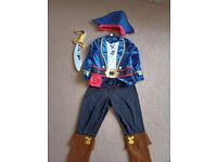 jake and the neterland pirate costume 5-6