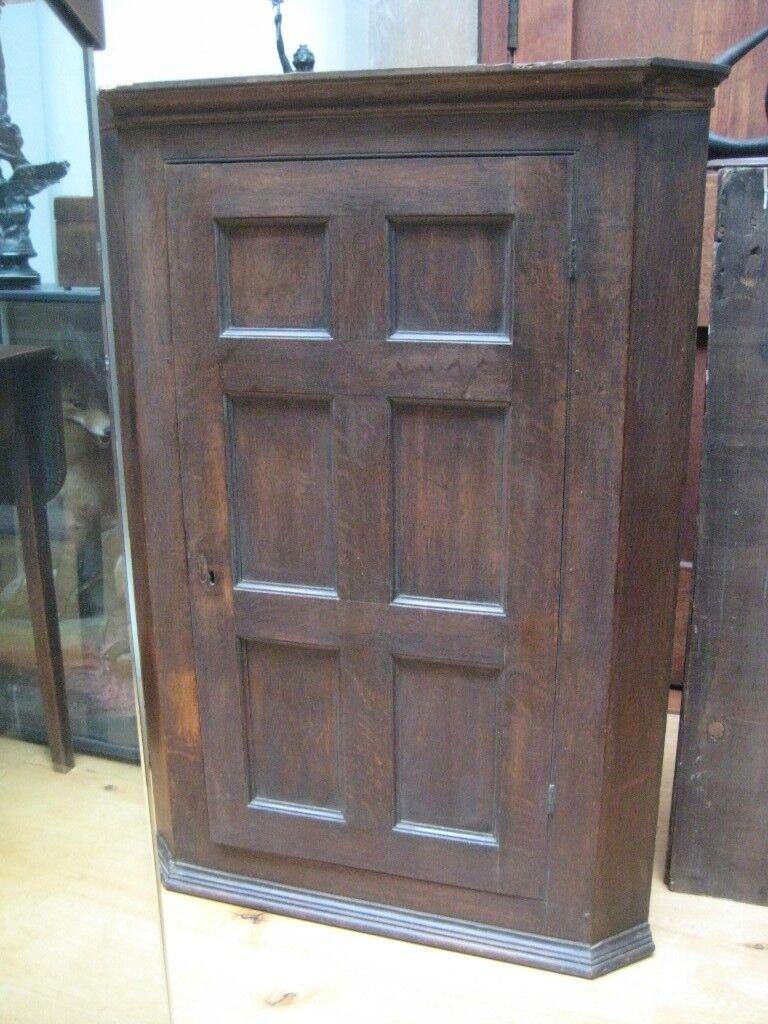 Antique Oak Corner Cupboard - Antique Oak Corner Cupboard In Ashbourne, Derbyshire Gumtree