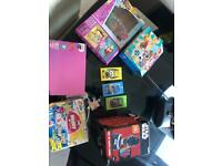 Collection of games and jigsaws