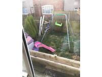 Swing ,slide n playhouse