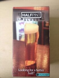 Secret half pint glass - Novelty gift Topman