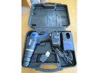 NUTOOL CORDLESS DRILL, BATTERY, CHARGER & CARRY CASE