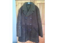 Mens Large Sheepskin Coat