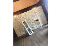 Flower wall rental and wedding photography