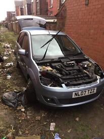 FORD FIESTA BREAKING FULL PARTS AVAILABLE FACELIFT 2007
