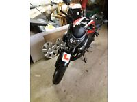 Ajs 125 only 75 miles british made not ktm honda yamaha learner legal