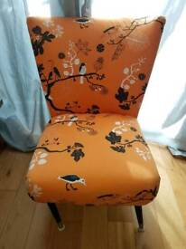 Beautiful 1950s Cocktail Chair