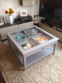 Ikea Liatorp coffee table grey. £165 new. 1 year old