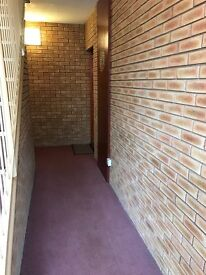 2 bed ground floor flat in Clydebank. Secure controlled entry. Allocated off-street parking.