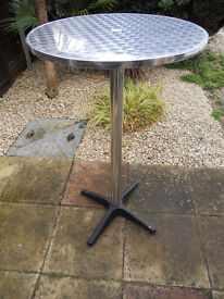 Two Bistro Tables different heights £10 each