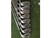 Taylormade PSI irons 4-Gap wedge px shafts