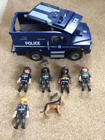 Playmobil police squad.