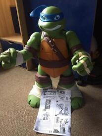 Ninja turtles giant leonardo playset