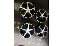 """18 """" Load rated alloy wheels"""