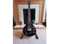 Epiphone Les Paul Express short-scale, virtually unplayed.
