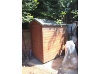 Garden shed 4x6