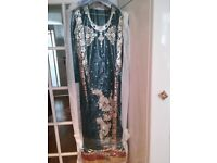 Anarkali Dress - Green (Hardly used and in good condition)