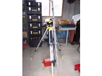 Stanley Auto Level AL24 with tripod and staff.