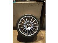 Oz racing alloy wheels