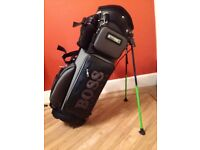 Hugo Boss Golf Carry Bag Brand New with Cover, Water Bottle, Brushes