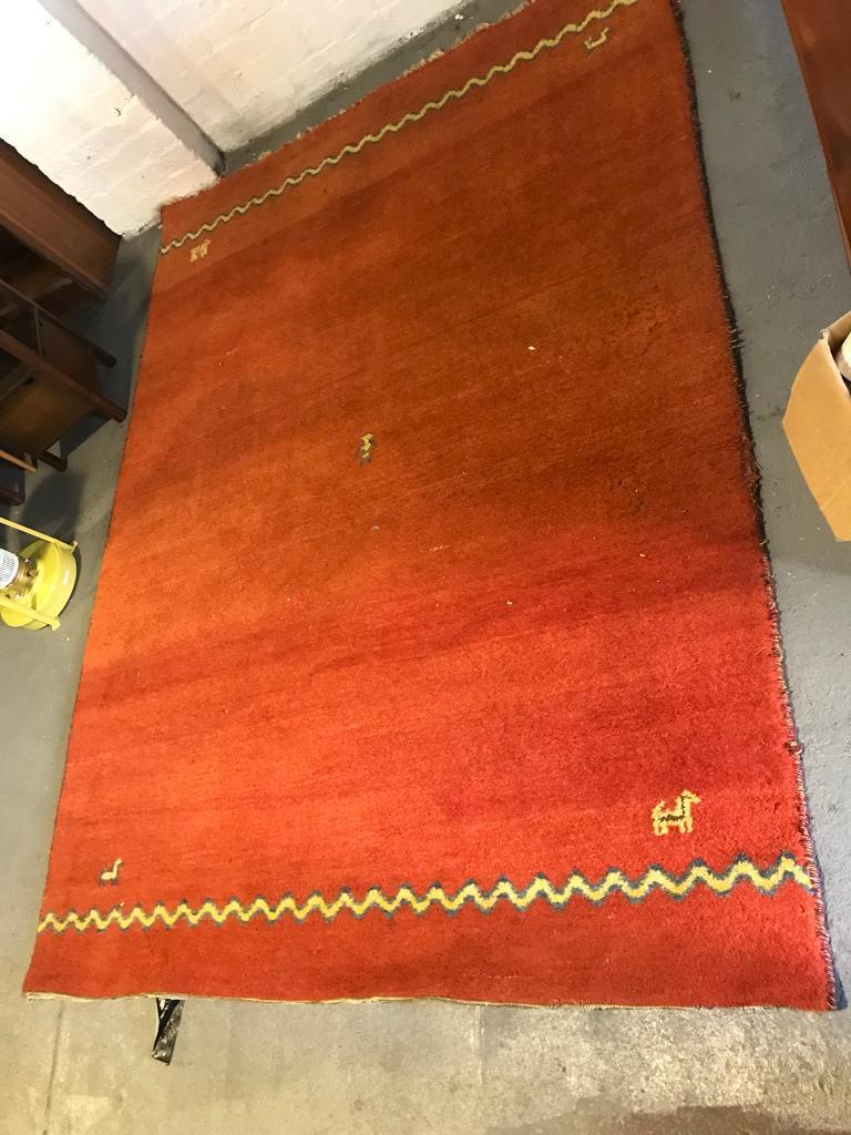 Orange Rug 177cm X 247cm In Kirkintilloch Glasgow Gumtree