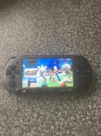 64GB SILVER PSP SLIM 15,000 GAMES | in Ramsbottom