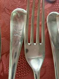 Selection of Viceroy cutlery.