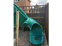 Kids spirel slide