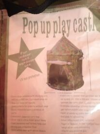 pop up army tent kids