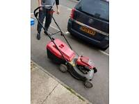 Lawn mower need gone asap