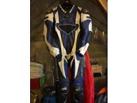 Spyke Motorcycle one piece leathers