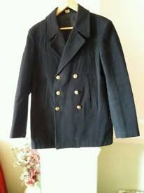Vintage US Navy Pea Coat £60