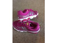 """Ladies New Balance size 8 """"mint condition"""" trainers running shoes tennis squash triathlon cycling"""