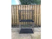 SOLD SOLD Dog crate/cage 2 for £15