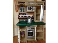 Lifestyle children kitchen