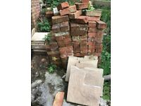 Bricks and paving slabs