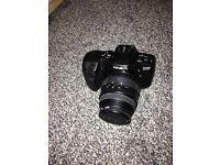 SLR camera and lense