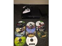 Xbox 360E with 11 games bargain