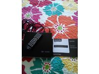 Technika portable HDMI DVD Player as new with remote & handbook