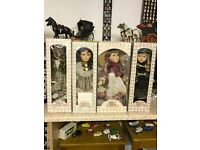 "Leonardo Collection Porcelain Dolls 16"""