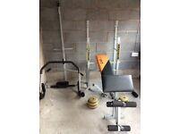 V fit Herculean folding weight bench