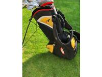 Taylormade r7 Stand Bag -Rare / With Rain Cover And All Original Zips/Pulls